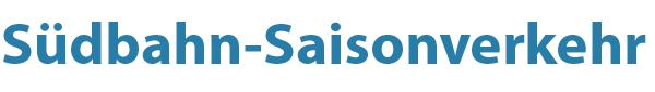 Südbahn Saisonverkehr Logo